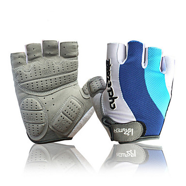 Sports Gloves Bike Gloves / Cycling Gloves Moisture Permeability Breathable Reduces Chafing Shockproof Fingerless Gloves Cotton Lycra