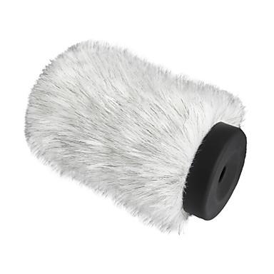 shotgun kondansatör mikrofonlar için boya by-P140 tüylü açık görüşme mikrofon cam muff