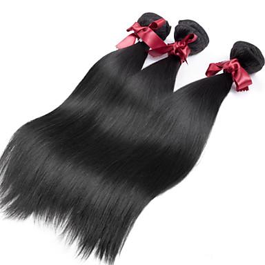İnsan saç örgüleri İri Dalgalı Peru Saçı Rovné 12 ay 3 Parça saç örgüleri
