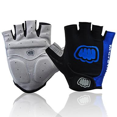 FJQXZ Sports Gloves Bike Gloves / Cycling Gloves Wearproof Fingerless Gloves Mesh Cycling / Bike Men's Women's