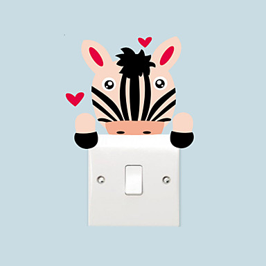Hayvanlar / Karton / Romantizm / Tebeşir Tahtası / Moda / Tatil / Manzara / Şekiller / Fantezi Duvar Etiketler Uçak Duvar Çıkartmaları ,