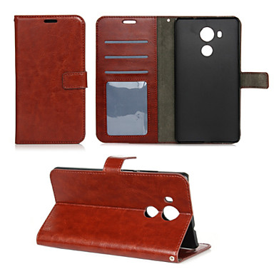 Case For Huawei Huawei Mate 8 Mate 8 Huawei Case Wallet Card Holder with Stand Flip Full Body Solid Color Hard PU Leather for Huawei Mate