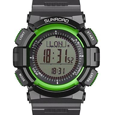 Masculino / Mulheres / Unissex Relógio de Pulso DigitalLCD / Altimetro / Compass / Termômetro / Calendário / Cronógrafo / Impermeável /
