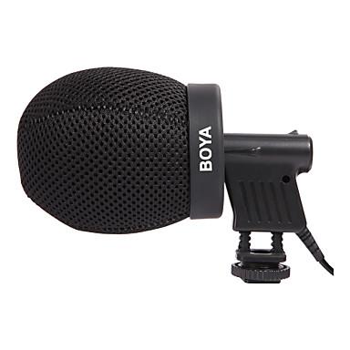 Boya by-t50 belső mélység 50mm szakmai szélvédő puskamikrofon