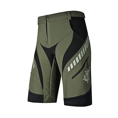 Nuckily Kerékpáros nadrág Férfi Bike Kerékpáros rövidnadrág Bélelt nadrág Fehérnemű Shorts Baggy nadrág Alsók Kerékpáros ruházat Vízálló