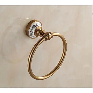 Törülközőtartó gyűrű , Neoklasszikus Csiszolt Falra rögzített