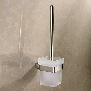 Toilet Brush Holder / Stainless Steel Stainless Steel /Contemporary