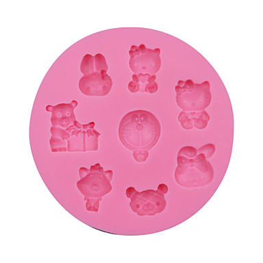 Mini Cute Cats Fondant Decoration Mold,Chocolate Candy Cookie Mold  ,Craft Mold Cake Decorating Tools SM-066