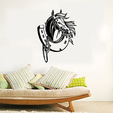 Hayvanlar / Karton / Romantizm / Moda / Tatil / Manzara / Şekiller / Nakliye / Fantezi Duvar Etiketler Uçak Duvar Çıkartmaları , PVC58cm