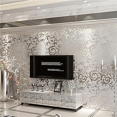 billige Veggkunst-Art Deco Hjem Dekor Moderne Tapetsering, Ikke vævet papir Materiale selvklebende nødvendig bakgrunns, Tapet