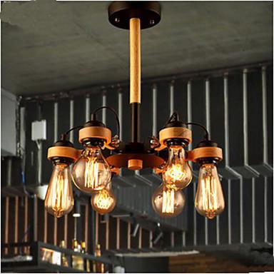 Living Room Bedroom Studio  Lamps And Lanterns American Retro Ceiling 6