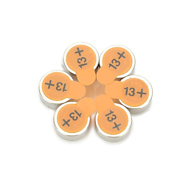 nexcell a13 PR48 japán import hallókészülék gombelem (6 db)