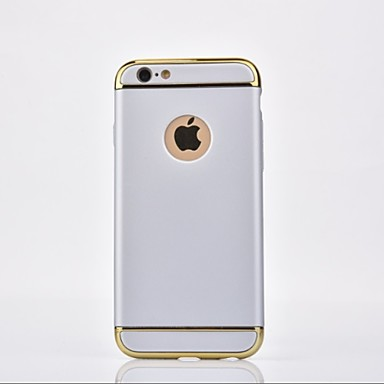Pouzdro Uyumluluk Apple iPhone X / iPhone 8 Kaplama Arka Kapak Solid Sert Metal için iPhone X / iPhone 8 Plus / iPhone 8