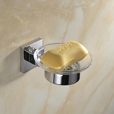 Fürdőszoba tartozék szett , Kortárs Tükörfényes Falra rögzített