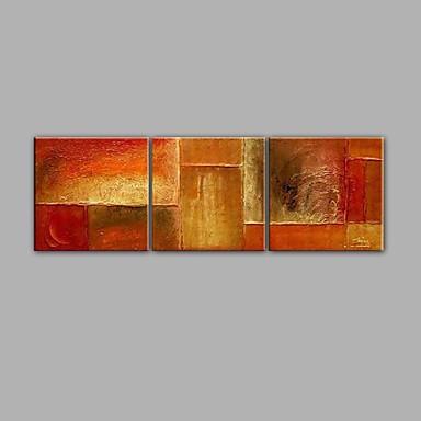 el boyalı soyut tarz yağlı boya 3 panel ev dekorasyon