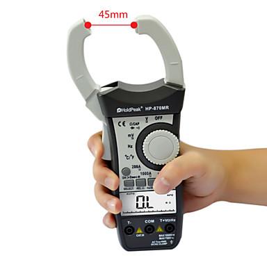 Holdpeak - HP-870H - Digitális kijelző - Lakatfogós multiméter