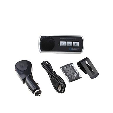 bluetooth handsfree araç kiti araba güneşlik üzerine kısaltıldı, bluetooth 3.0, aynı anda iki telefon destekleyebilir