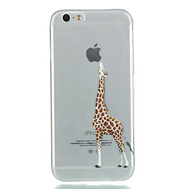 iPhone 7 Plus Giraffe TPU Soft Phone Case For iPhone 6s 6 Plus SE 5s 5