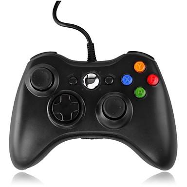 رخيصةأون اكسسوارات اكس بوكس 360-*3-PC001BW سلكي مضبط لعبة من أجل إكس بوكس 360 / PC ، ألعاب المقبض مضبط لعبة ABS 1 pcs وحدة