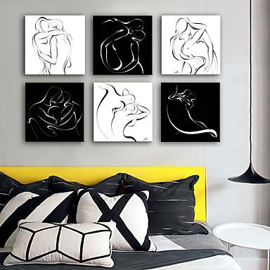 Menschen Fantasie Ein Panel Quadratisch Druck Wand Dekoration Haus Dekoration