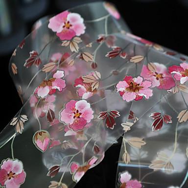 1 מסמר תכשיטים לסכל סרט פרח אופנתי יומי איכות גבוהה