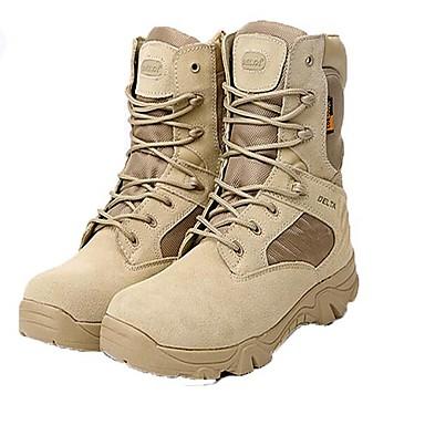 Miesten kengät Denim Nahka Talvi Syksy Maiharit Comfort Bootsit Noin 20.32cm-25.4cm Nilkkurit Solmittavat Vetoketjuilla varten ulko-