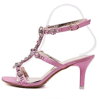 Femme Synthétique Eté Aiguille Talon 04864364 Rose Plateau Chaussures z4zFqwWxrf