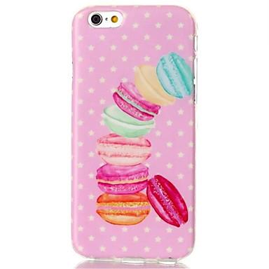 Varten iPhone 6 kotelo / iPhone 6 Plus kotelo Kuvio Etui Takakuori Etui Piirros Pehmeä TPU iPhone 6s Plus/6 Plus / iPhone 6s/6