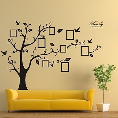 Animals Wall Stickers 3D Wall Stickers Photo Stickers, Vinyl Home Decoration Wall Decal Wall Decoration