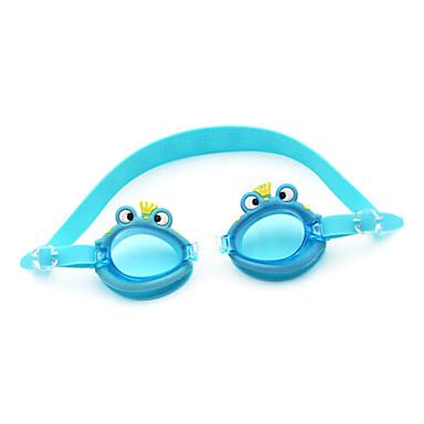 Óculos de Natação Anti-Nevoeiro silica Gel PC Azul Azul Escuro Laranja Verde Rosa Azul Azul Escuro Laranja Verde Rosa