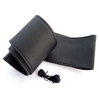رخيصةأون اكسسوارات السيارات الداخلية-ZIQIAO أغطية إطارات القيادة ميكرو فيبر أسود / البيج / رمادي من أجل عالمي