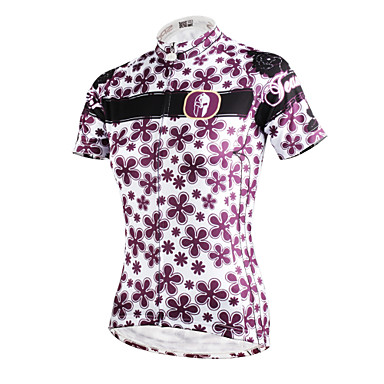 ILPALADINO Biciklistička majica Žene Kratki rukav Bicikl Biciklistička majica MajiceQuick dry Ultraviolet Resistant Prozračnost Lagani