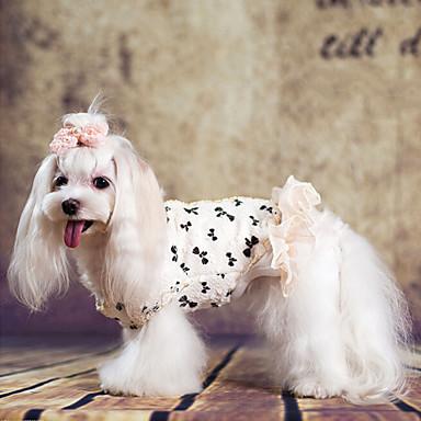 개 코트 강아지 의류 겨울 패션 화이트
