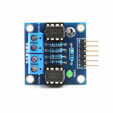 2-veis dc motor stasjonen modul for Arduino + Raspberry Pi - blå