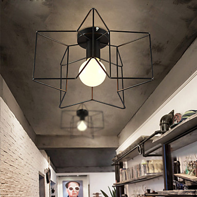 Tiffany Rusztikus Vintage Modern/kortárs Hagyományos/ Klasszikus Retro Lámpás Ország Mennyezeti lámpa Kompatibilitás Nappali szoba