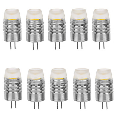 G4 LED klipaste žarulje T 1 LED diode COB Ukrasno Toplo bijelo Hladno bijelo 160-190lm 2800-3000/6000-6500K DC 12V