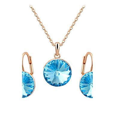 Damen Schmuckset Kristall Kubikzirkonia Diamantimitate Aleación Luxus Retro Niedlich Party Büro Freizeit Modisch Party Besondere Anlässe