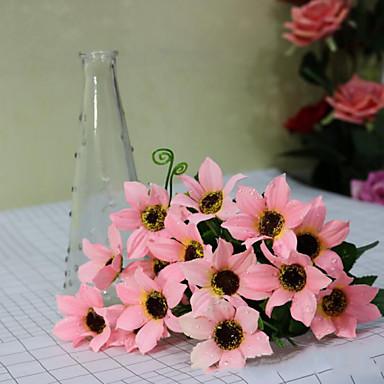 High Quality  Dew Chrysanthemum Flower Silk Flower Artificial Flowers for home Decoration Flower Kit