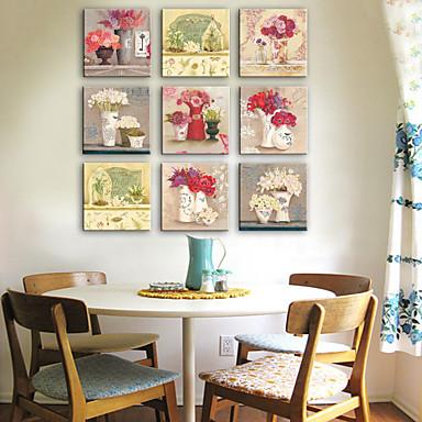 Kasvitiede 1 paneeli Neliö Painettu Wall Decor Kodinsisustus