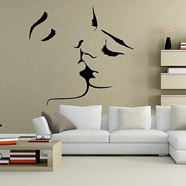 Koriste-seinätarrat - Ihmiset Wall Stickers Ihmiset / Asetelma / Romantiikka Olohuone / Makuuhuone / Kylpyhuone