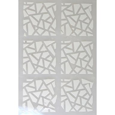 추상화 - 핑거 / 발가락 - 3D 네일 스티커 - 이 외 - 5 sheets - 13*7.5