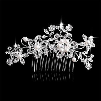 Seitenkämme Haarschmuck Krystall Perücken Accessoires Damen Stück 6-10cm cm