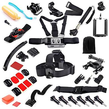 Helmhalterung / Kopfbänder Klipp Schutzhülle Taschen Schraube Boje Klebehalterungen / Haftend Träger Handgriffe Einbeinstativ Knopf