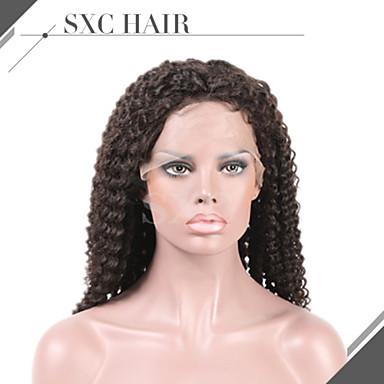 kinky kihara hiuksista peruukit korkealuokkaiset liimattoman Intian virgin Remy Nyörilliset peruukit vauvan hiukset mustat naiset