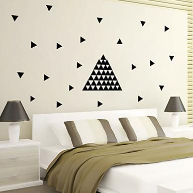 모양 추상 벽 스티커 플레인 월스티커 데코레이티브 월 스티커 자료 이동가능 홈 장식 벽 데칼