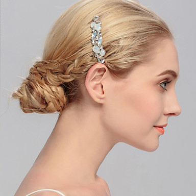 Women's Crystal Headpiece-Wedding Special Occasion Casual Office & Career Outdoor Hair Combs 1 Piece