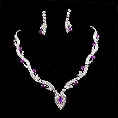 Žene Nakit Set Umjetno drago kamenje Legura / Umjetno drago kamenje
