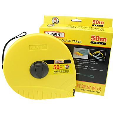 כלי rewin® קלטת פיברגלס מובחרת עם 50m חומר ABS