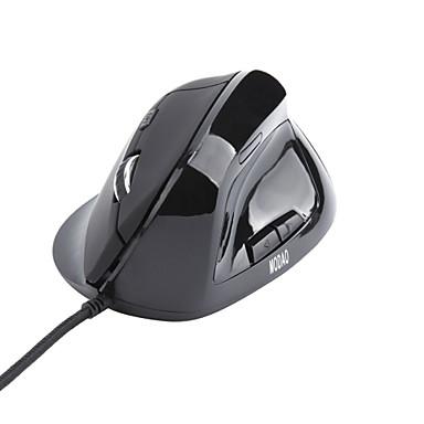 Mit Kabel ergonomische Maus DPI Adjustable Hinterleuchtet 800/1600/2400/3200