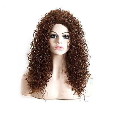 duga dužina ravna kosa europska tkati smeđu boju kose sintetička perika